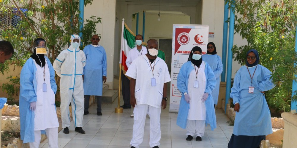ATU DARYEEL Hospital Converted to Main Treatment Center